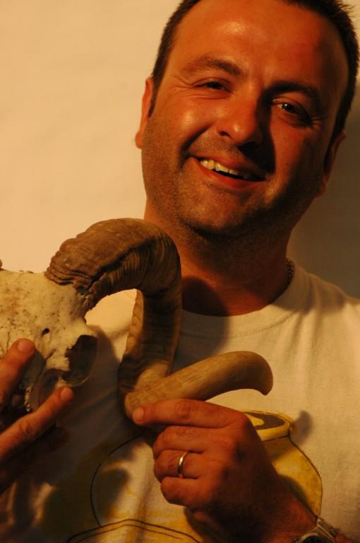 Juanmi Ramis, fundador de l'Associació, inventor de la pomadeta del Carme, festero fins festes 2008 incloses.