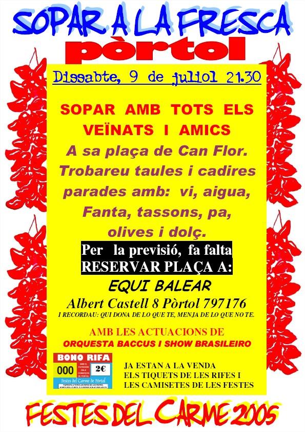 poster sopar 2005