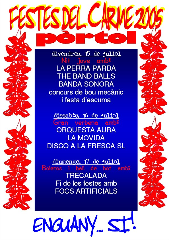 poster verbenes 2005