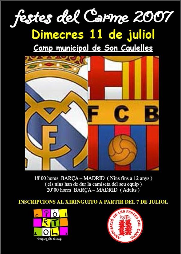 poster futbol 2007