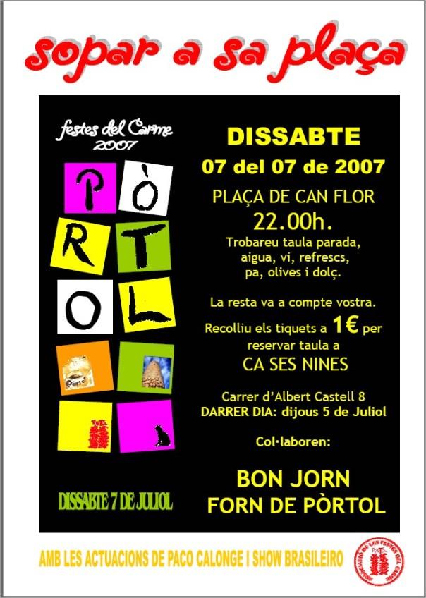 poster sopar 2007