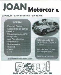 5 joan motorcar